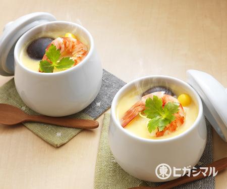 茶碗蒸しのレシピ・作り方|和食がいっぱい。ヒガシマルレシピ|【ヒガシマル醤油】